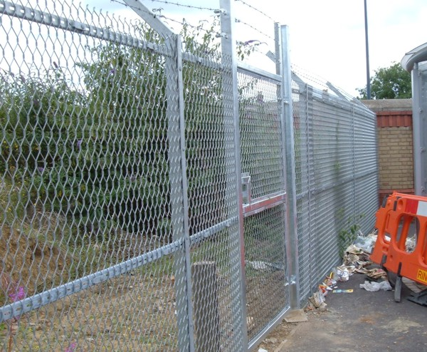 Expamet Fencing, Security Fencing Leyton, London, Industrial Fencing