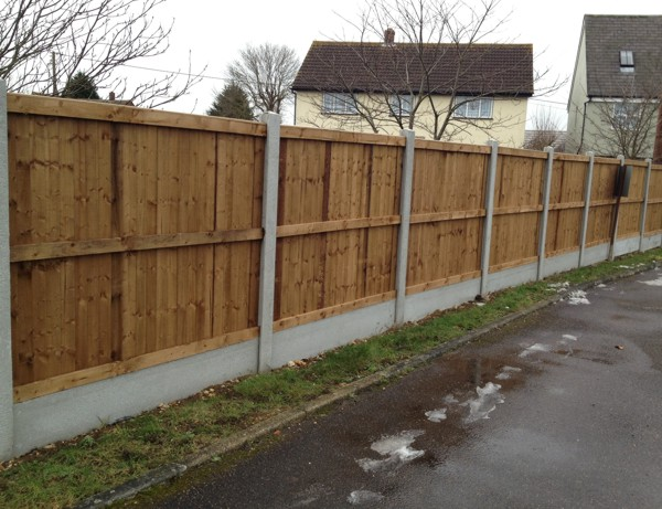 Garden Panel Fencing, Panel Fencing Billericay, Essex Fencing