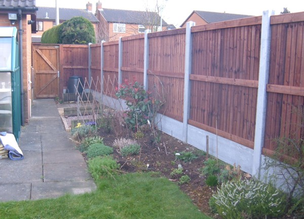 Garden Panel Fencing, Panel Fencing Corringham, Essex Fencing