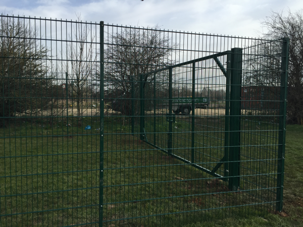 868 Double Wire Mesh Panel Fencing Corringham Essex