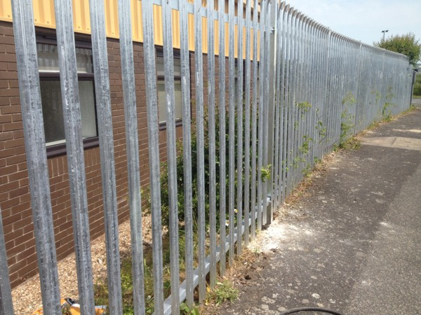 Palisade Fencing, Security Fencing Rochester Kent, Industrial Fencing