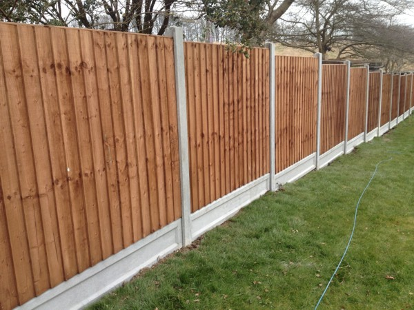 Garden Panel Fencing Billericay Essex