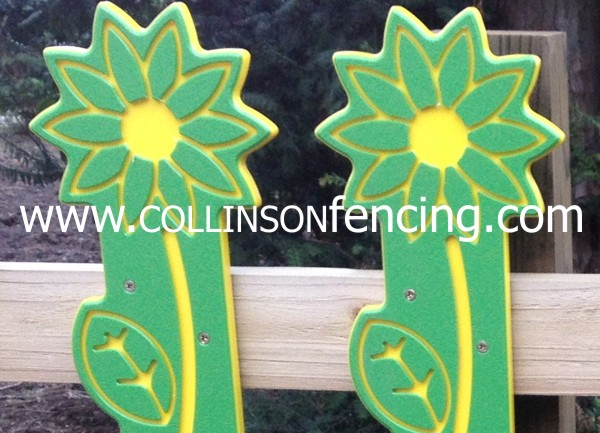 Sunflower Fencing