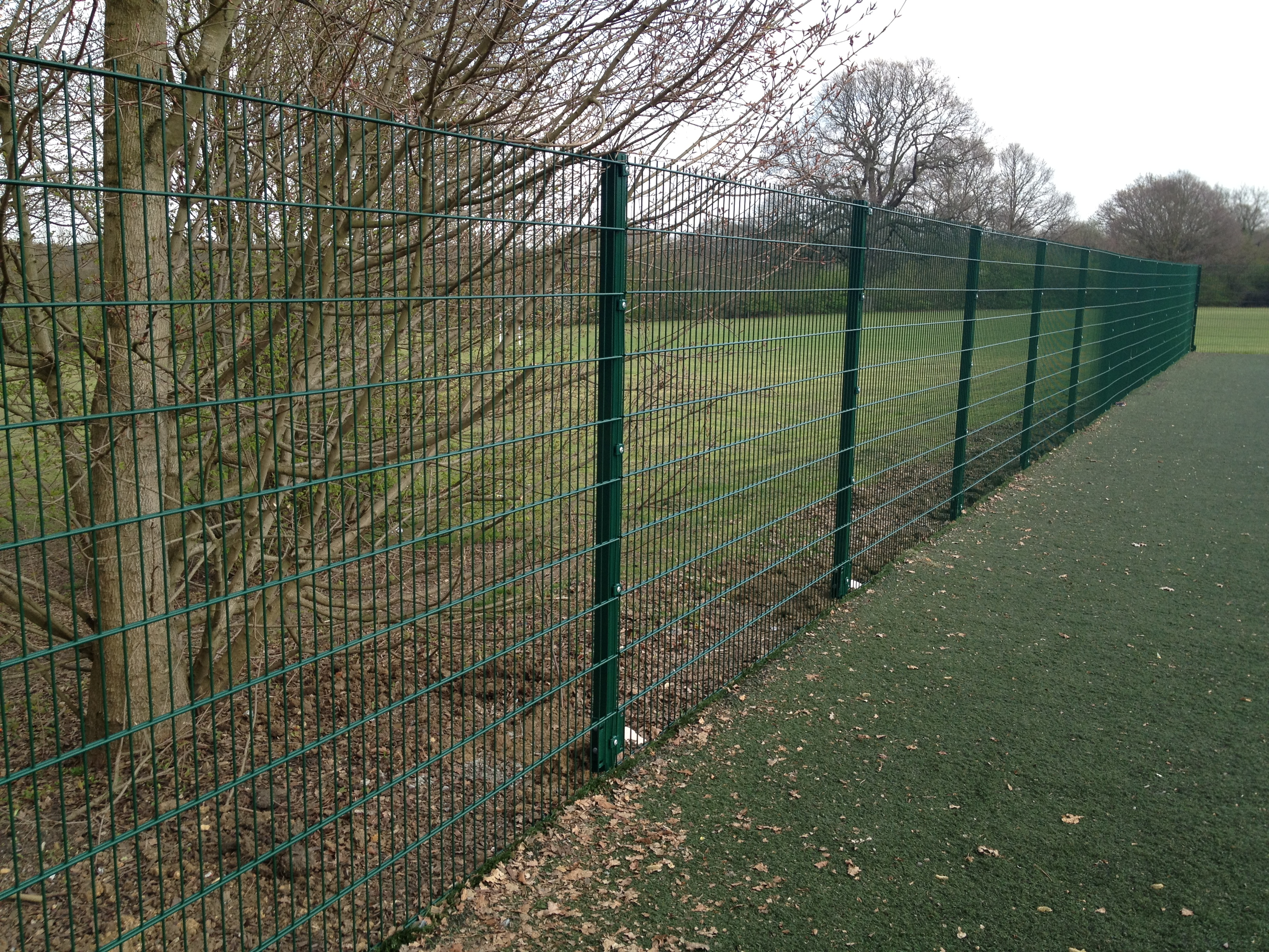 868 Mesh Panel Fencing, Security Fencing Brentwood, Essex, Industrial Fencing
