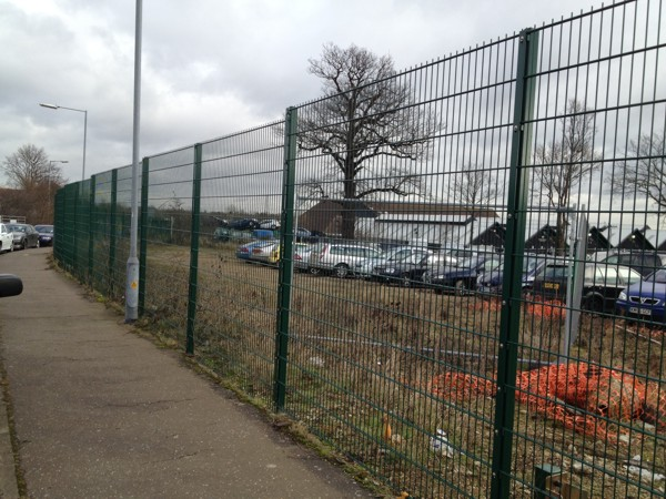868 Mesh Panel Fencing, Security Fencing Chelmsford, Essex, Industrial Fencing